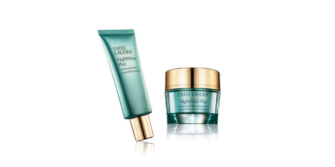 LAUDER_NIGHTWEAR PLUS 3 MINUTE DETOX MASK_NIGHTWEAR PLUS ANTI-OXIDANT NIGHT DETOX CREME
