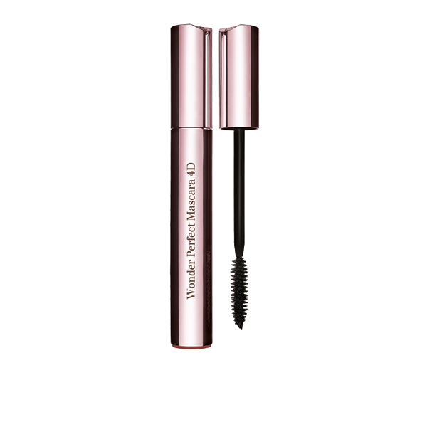 Clarins Wonder Perfect Mascara 4D und Ombres Velvet/Satin